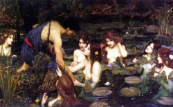 Waterhouse, John William - Ila e le Ninfe (1896).jpg